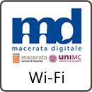 Accedi all'applicazione Wi-Fi Maceratadigitale